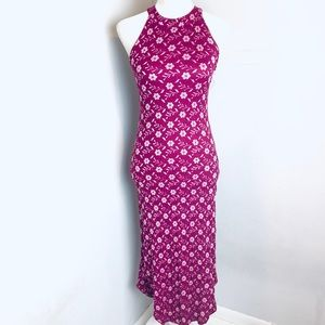 Free people floral maxi dress size small